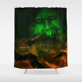 In The Dark Of The Night Shower Curtain