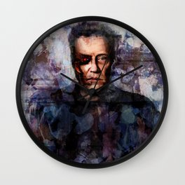 Christopher Walken Terminator Wall Clock