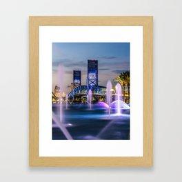 Main Street Bridge Framed Art Print