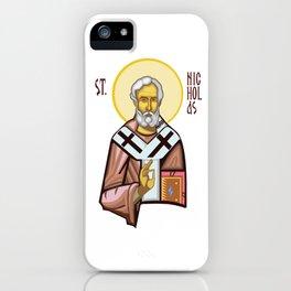 St. Nicholas of Myra iPhone Case