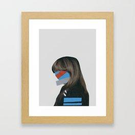 It's Not Me Framed Art Print