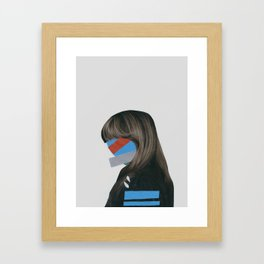 It's Not Me Framed Art Print