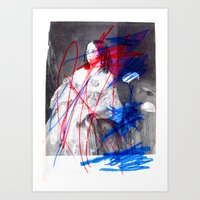 Strike 14 Art Print