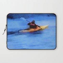 The Explorer    -   Kayaker Laptop Sleeve