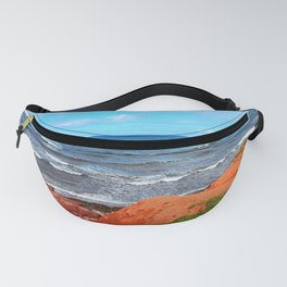Rolling Waves in East Point PEI Fanny Pack