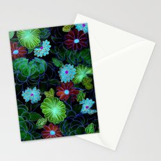 Oriental blossom (night version) Stationery Cards