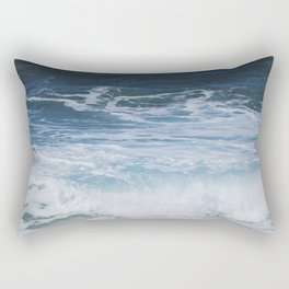 Ocean waves from the depths of the stars Rectangular Pillow