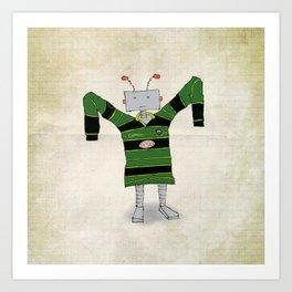 Saints Robot Art Print