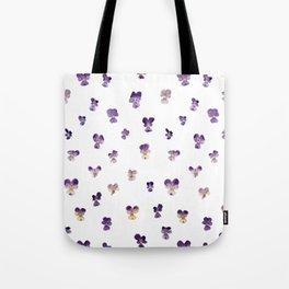 Johnny Jump Up Pattern Tote Bag