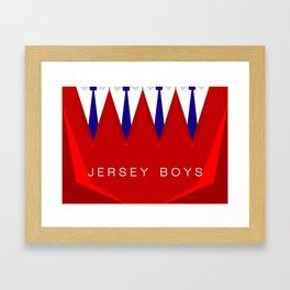 Jersey Boys Framed Art Print