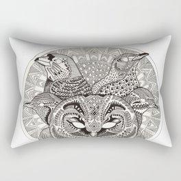 Dawn Chorus Rectangular Pillow