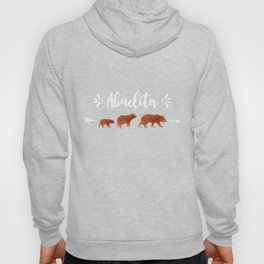 Abuelita Bear And Two Cubs  Hoody
