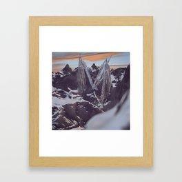 Letter Series: M Framed Art Print