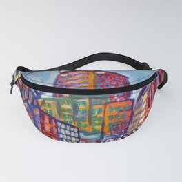 Harbour Centre From Gastown, Vancouver Fanny Pack