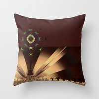 concert Throw Pillows featuring Starlight Concert by Jim Pavelle