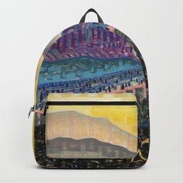 Orange Sunrise Backpack