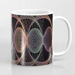 Elliptic Rotations, Day-glow Pop Poster Art Coffee Mug