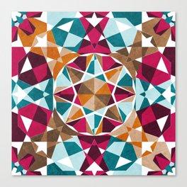 Moroccan Mosaic Canvas Print