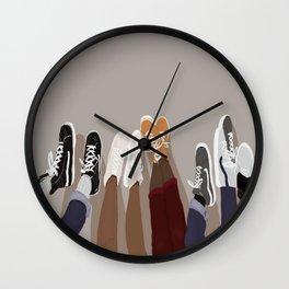 Pumped up Kicks Wall Clock