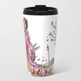 Blowing Leaves Travel Mug