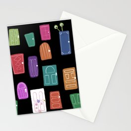 Monster doors Stationery Cards