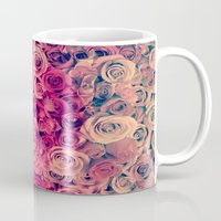 roses Mugs featuring Roses by Msimioni