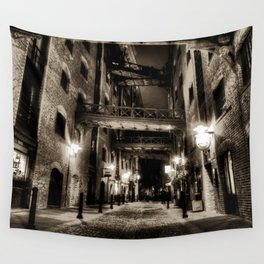 Jack the Rippers London Wall Tapestry