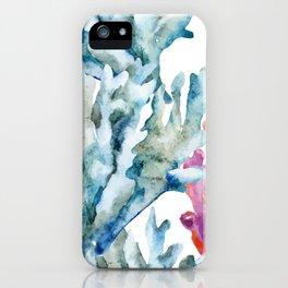 Sea Life Pattern 02 iPhone Case