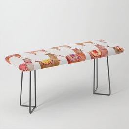 Alpacas Bench