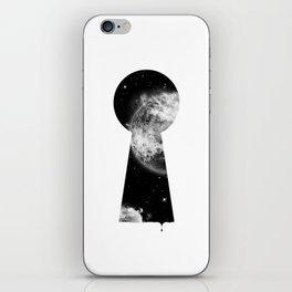 Key To The Stars iPhone Skin