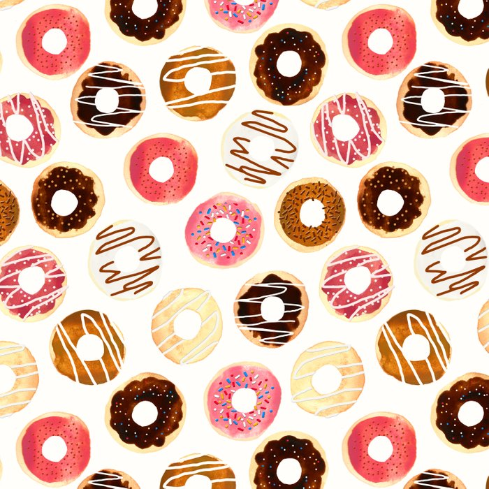 Donuts For Days Duvet Cover