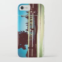train iPhone & iPod Cases featuring Train by Ibbanez