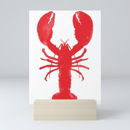 Watercolor Lobster Mini Art Print