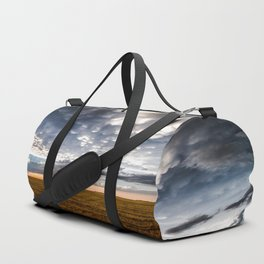 After the Storm - Spacious Sky Over Field in West Texas Duffle Bag