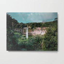 Pure Waterfall Metal Print