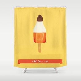 Hot Summer Shower Curtain