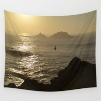 freedom Wall Tapestries featuring Freedom by Caroline Benzies Photography