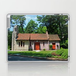 Lourdes University-  Portiuncula  Chapel in the Spring V Laptop & iPad Skin