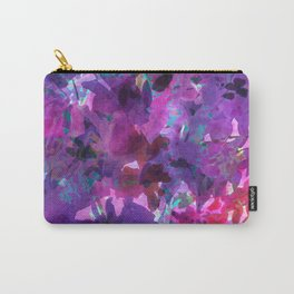 Violet Fields Carry-All Pouch