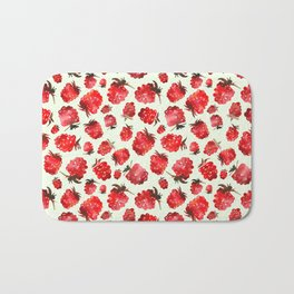 Raspberry vibes Bath Mat