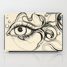 Eye Fish Doodle iPad Case
