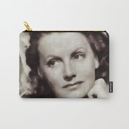 Greta Garbo, Vintage Actress Carry-All Pouch