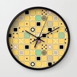 Geometrical abstract pattern 2 Wall Clock