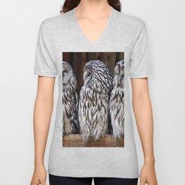 Owl Trilogy Unisex V-Neck