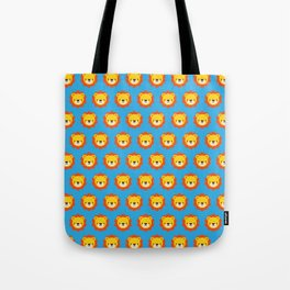 Lenny the Lion Pattern Tote Bag