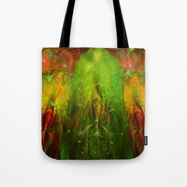 Fractal Angels VI Tote Bag