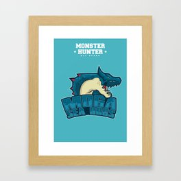 Monster Hunter All Stars - Moga Sea Dogs Framed Art Print
