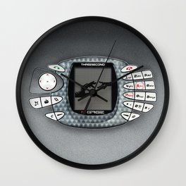 Retro vintage Handphone games Wall Clock