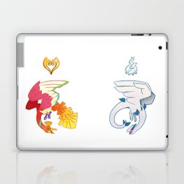 Heart of Gold/Soul of Silver Laptop & iPad Skin