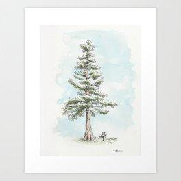 """""""Tall Tree"""" Art Print"""